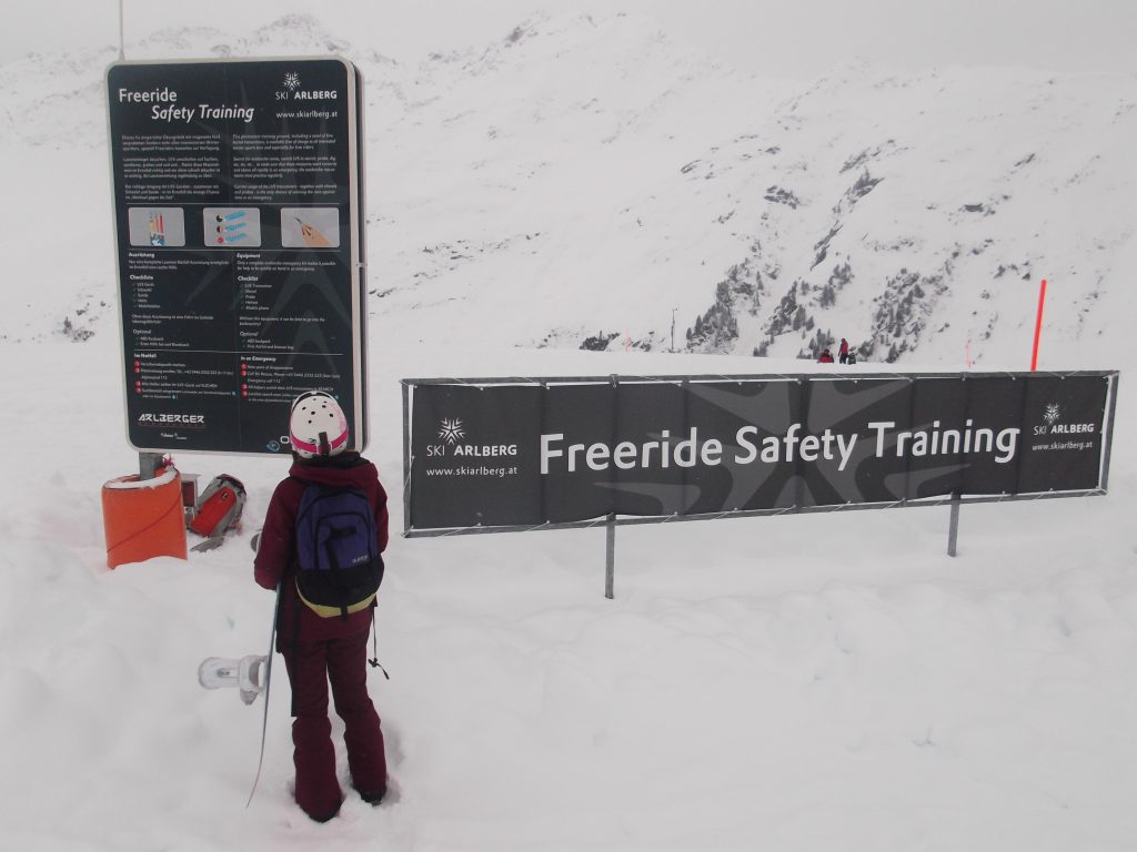 Freeride Safety Training